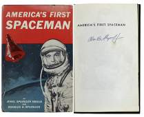 Alan Shepard Authentic Signed America's First Spaceman