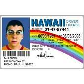 McLovin Drivers License ID Card Superbad Movie Fogels