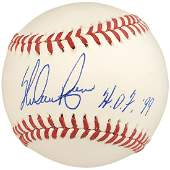 Nolan Ryan Autographed Official MLB Baseball Texas