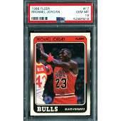 1988 Fleer Basketball Michael Jordan #17 PSA 10 GEM