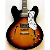 Bruce Springsteen Signed Electric Guitar Beckett RARE!!