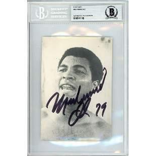 Muhammad Ali signed 79 car OLD SIGNATURE!!1979 Beckett