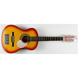 Carrie Underwood hand signed Acoustic Guitar JSA COA