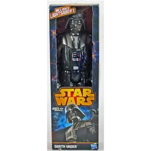 Hayden Christensen Star Wars Signed Darth Vader Action