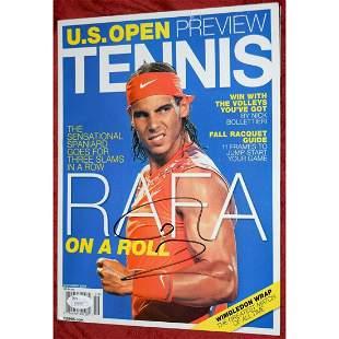 Rafael Nadal Signed TENNIS Magazine *JSA COA * RAFA
