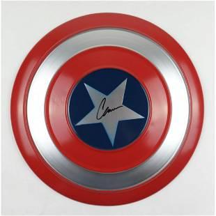 "Chris Evans Signed ""Captain America"" Marvel Authentic"