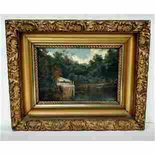 Rare Original Sanford Gifford Manner Landscape Painting
