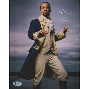 """Lin-Manuel Miranda Signed """"Hamilton"""" 8x10 Photo"""