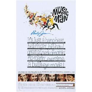 "Shirley Jones Signed ""The Music Man"" 11x17 Movie Poster"