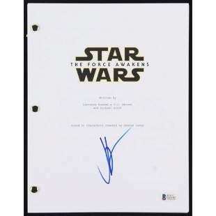 """J.J. Abrams Signed """"Star Wars: The Force Awakens"""" Full"""