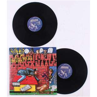 """Snoop Dogg Signed """"Doggystyle"""" Vinyl Record Album Cover"""