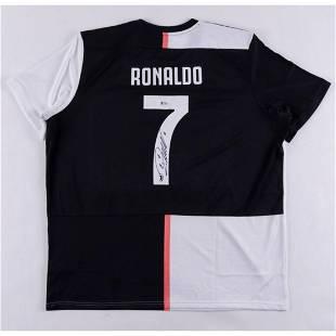 Cristiano Ronaldo Signed Juventus F.C. Jersey (Beckett