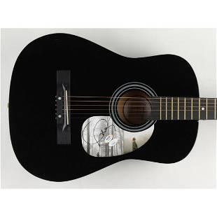 "Taylor Swift Signed 38"" Acoustic Guitar (JSA COA & PSA"