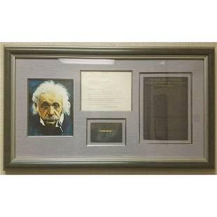 ALBERT EINSTEIN - TYPED LETTER SIGNED 08/01/1940