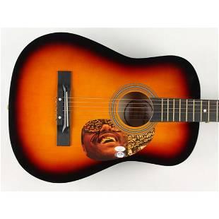 "The Weeknd Signed 38"" Acoustic Guitar (JSA COA & PSA"