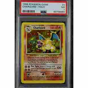 1999 Pokemon Game Base Set Unlimited Charizard Holo