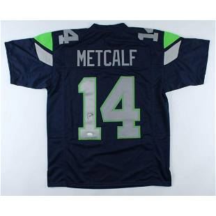 DK Metcalf Signed Jersey (JSA COA)