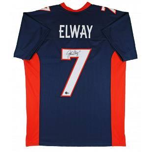 John Elway Signed Jersey (Beckett Hologram)