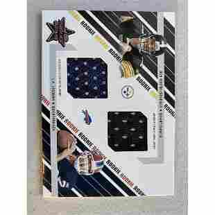 2004 LEAF ROOKIES & STARS #289 BEN ROETHLISBERGER & J.P