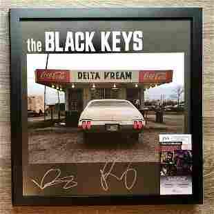The Black Keys Signed Autographed Delta Kream Framed