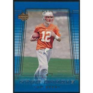 2000 UPPER DECK TOM BRADY STAR ROOKIE CARD #254 NM-MT