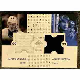 Ltd. Ed. 2002/03 SP Game Used Authentic Fabrics WAYNE