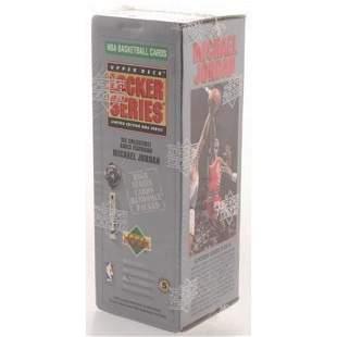 91'-92' UPPER DECK NBA MICHAEL JORDAN LOCKER SERIES 6