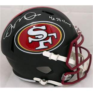 Joe Montana Autographed San Francisco 49ers Full Size