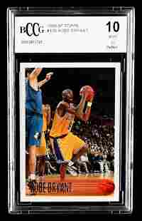 Kobe Bryant 1996-97 Topps #138 RC (BCCG 10)