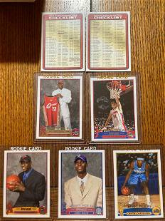 2003/ NBA Topps Complete Set With Wade BGS 8.5 Included