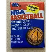 Unopened great condition 1986 Fleer Basketball Wax Pack