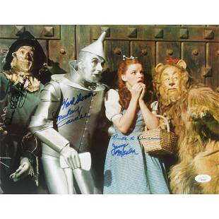 """""""The Wizard of Oz"""" 11x14 Photo Cast-Signed by (5) with"""