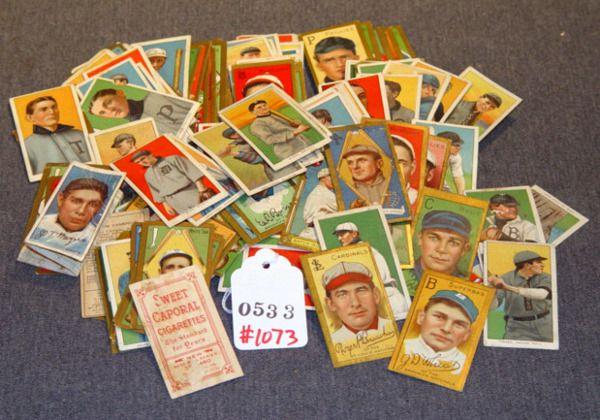 CIGARETTE BASEBALL CARDS: 163, SWEET CAPORAL, HON