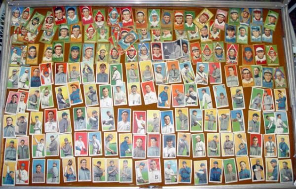 2749: CIGARETTE BASEBALL CARDS: 168, SWEET CAPORAL, HON