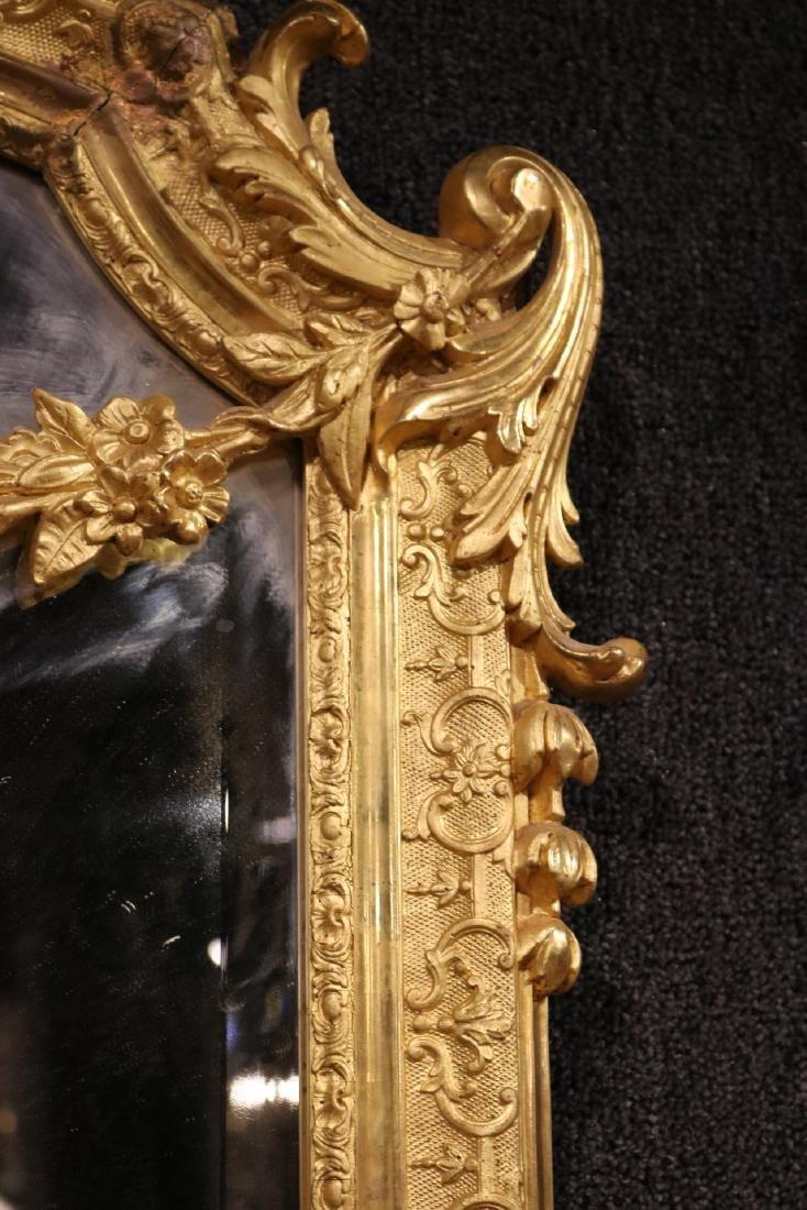 Pair of Louis XVI Style Giltwood Mirrors - 4