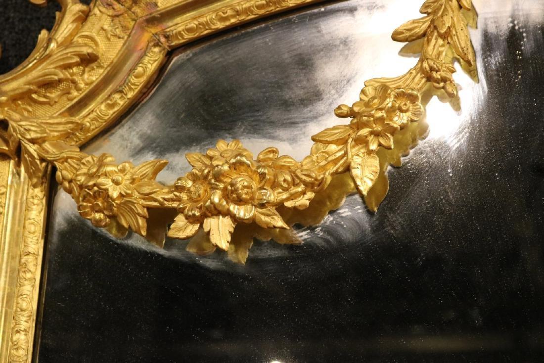 Pair of Louis XVI Style Giltwood Mirrors - 5