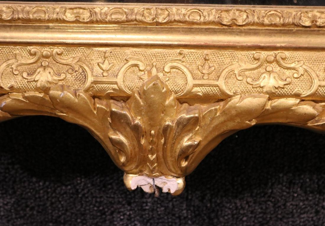 Pair of Louis XVI Style Giltwood Mirrors - 7