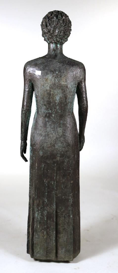 Life Sized Bronze Sculpture of a Standing Woman - 7