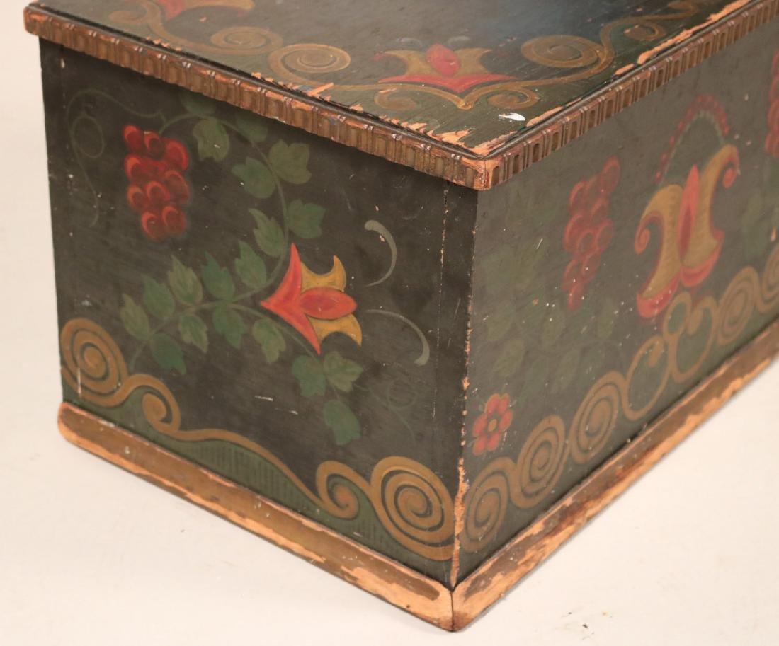 Paint-Decorated Diminutive Chest - 3