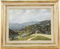 Oil on Canvas, Landscape