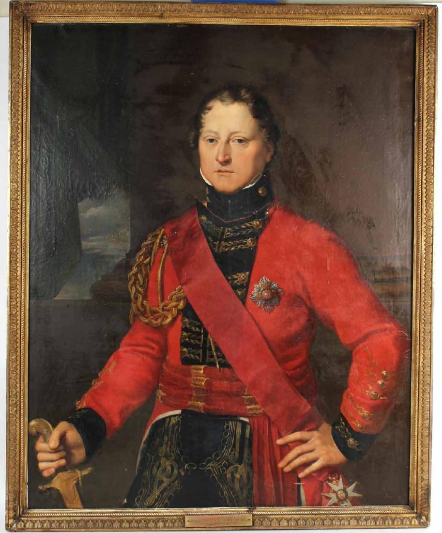 Oil on Canvas, General Gordon Drummond