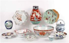 Group of Chinese and Japanese Porcelain Articles