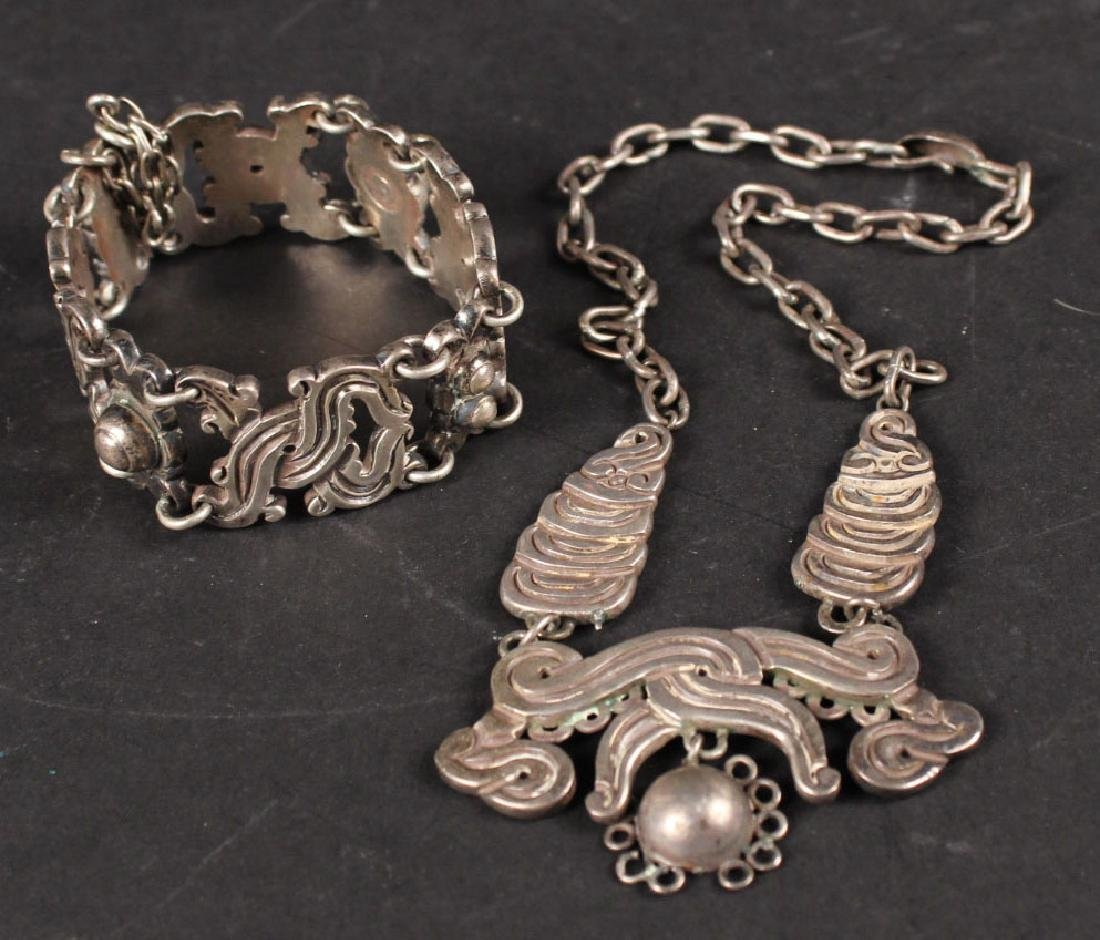 William Spratling, Mexico Sterling Silver Suite
