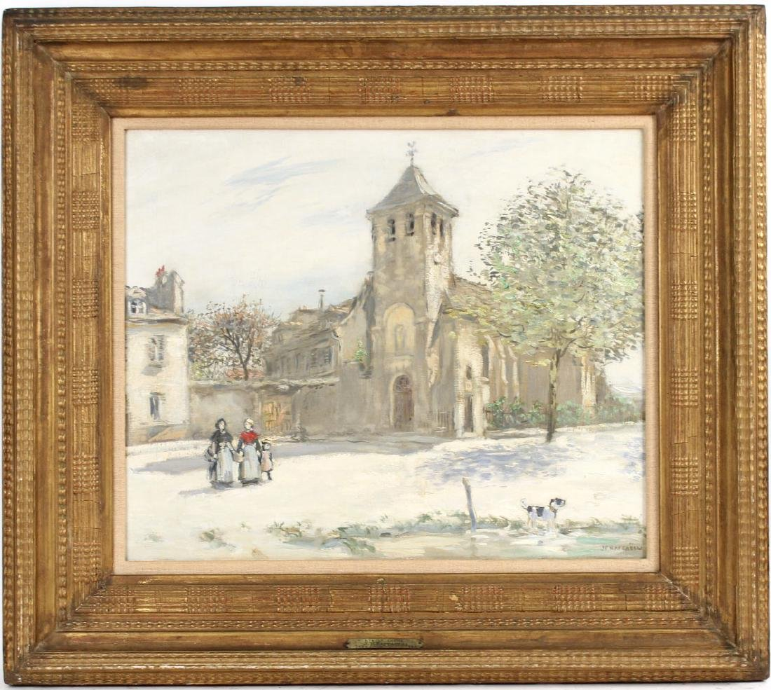 Oil on Canvas, Jean Francois Raffaelli