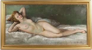 Oil on Canvas on Board, George Blanchard