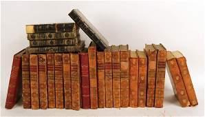 Twenty-Five Leather Bound Books