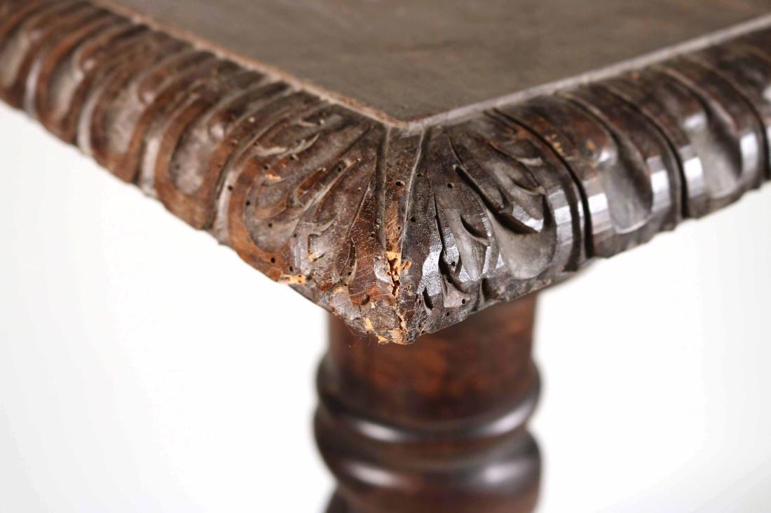Jacobean Style Carved Columnar-Form Pedestal - 4