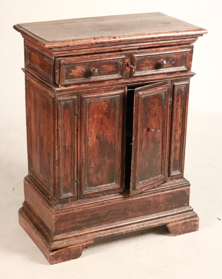Baroque Style Walnut Cabinet