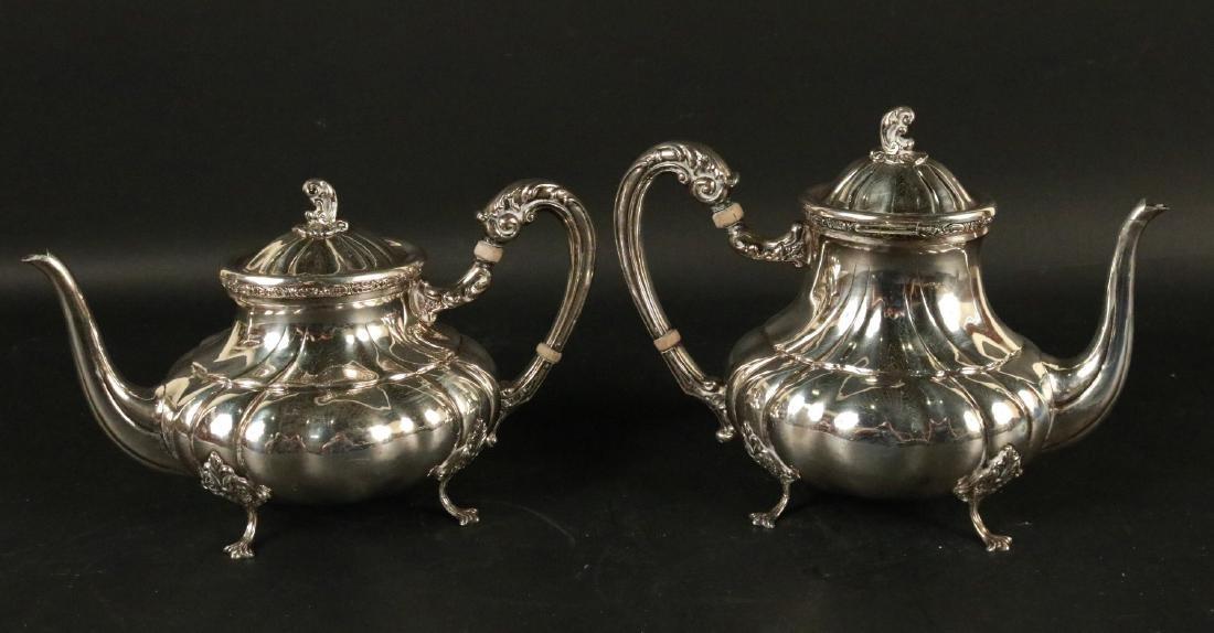 800 Silver Coffee Pot & Tea Pot