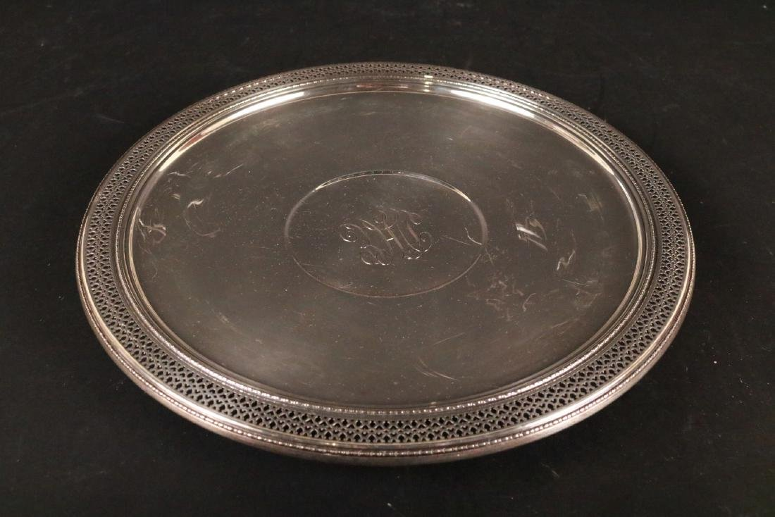 Black Starr & Frost Sterling Silver Tray